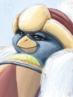 dedede face by Evanatt