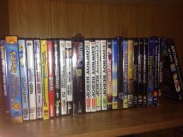 My Anime Collection. by FFPokeGhibli