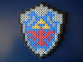 Hylian Shield Magnet by blargofdoom