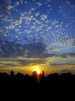 Sunset Over Central Park by jemgirl
