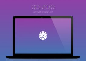 epurple Wallpaper by WanMudD