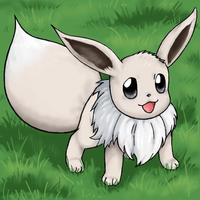 Boy225 collab -- Shiny Eevee by RastaPickney-Juls