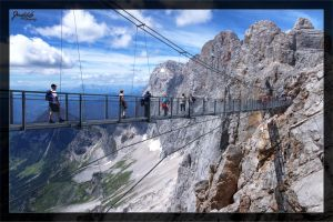 Dachstein Chain Bridge by deaconfrost78