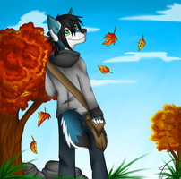 Autumn Boy by TwilightTraveler