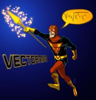 Vector Man by DBed