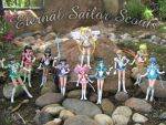 Eternal Sailor Scouts by JCproductions