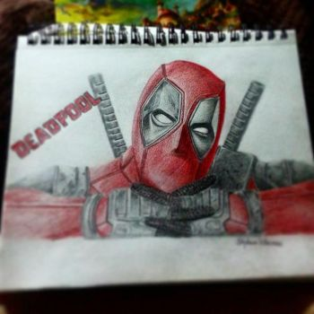 Deadpool by svillacreses