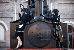 Black Rock Shooter by LorraineFish