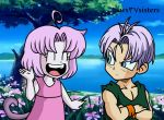tania meet trunks by naruto-warriors-oc