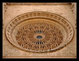 Rosetta... Cathedral La Seou In Palma by skarzynscy