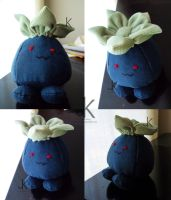 Oddish Plush by justjenny322