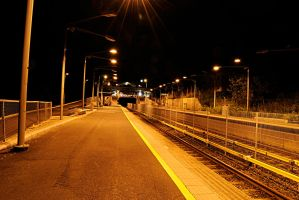 Subway Station by Night by s-ense