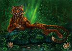 Jungle queen by FlashW
