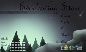 EverlastingStars Application -BLANK- by BrightInTheDark