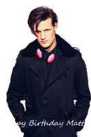 Happy Birthday Matt Smith by Before-I-Sleep