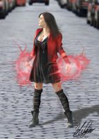 Age of Ultron: Scarlet Witch by neoyurin