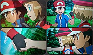 Battling Together~Ash and Serena! by TheKalosQueenSerena