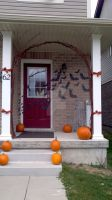 halloween porch by MrsBitterSuites