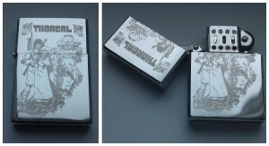 THORGAL - engraved lighter by Piciuu