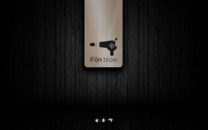 iFoen blow Wood Glass Wall by comingloud