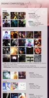 TOTW #16 + Best of Insane#16 + DAOTM-DOTM-POTM#3 by InsaneComposition