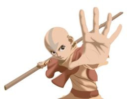 Aang: The Last Airbender by ekormekolindo