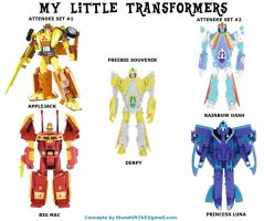 Botcon: My Little TFs 2 by Blueshift2k5