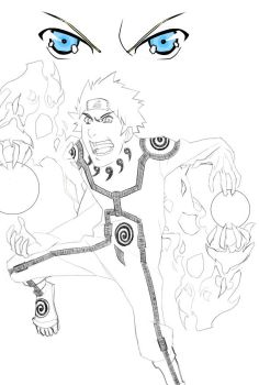 naruto new form sketch by hokg-a6
