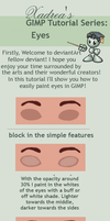 GIMP Tutorial: Eyes by Xadrea