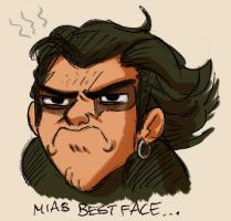 Mias Best Face by StressedJenny