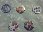 Hetalia Buttons by XInorix