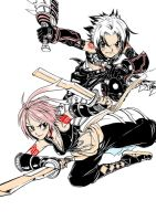 Screen Colour Haseo and Yowkou by ClassicTime