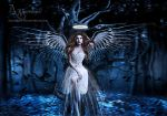 angel at night by annemaria48