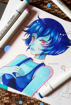 +Lapis - WIP+ by larienne