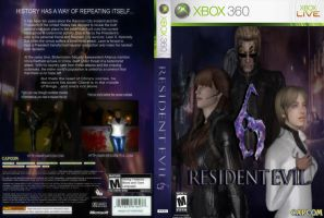 RE6 XBOX 360 Cover Art 1 by IamRinoaHeartilly