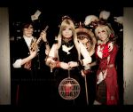 Alice in Steampunkland ::03 by Cvy