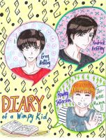 Diary of a Wimpy Kid / Ikujinonai Shounen no Nikki by uber-neko