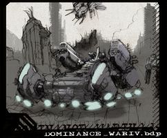 Dominance War Value Study01 by billydallaspatton