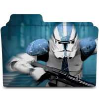 Stormtrooper Star Wars Folder Movie Icon by AnxoX