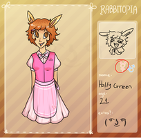 Rabbitopia Application [Holly Green] by bleedlings