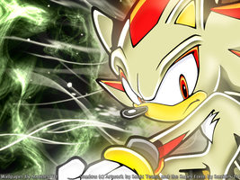Super Shadow .:Wallpaper:. by Sonitles