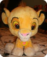 My Big Headed Simba Plush by DrOpDeAdShElLy