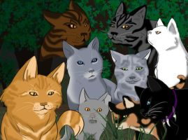 Warrior Cats - Original Series by CrownePrince