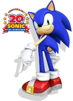 Sonic the Hedgehog: 20th Anniv by Phrozen123