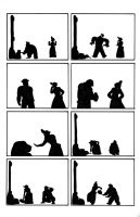 Silent Silhouettes 03 by Tzadike