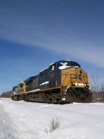 CSX ES44DC by LDLAWRENCE