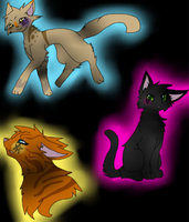 Heir of life, Rouge of heart, and Seer of light by prussiawashere999