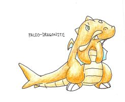 Paleo-Dragonite by tk36477