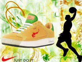 nike shoes by zahideltelpany