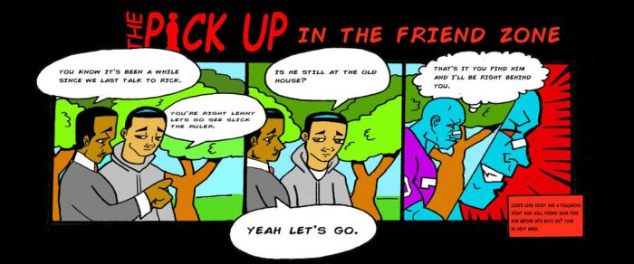 The Pickup in The Friend zone  page 3  by RWhitney75